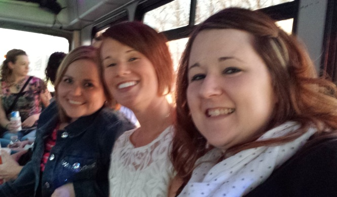 Spending time with this crew is always great (spending time with them on a party bus on the way to see George = awesome)