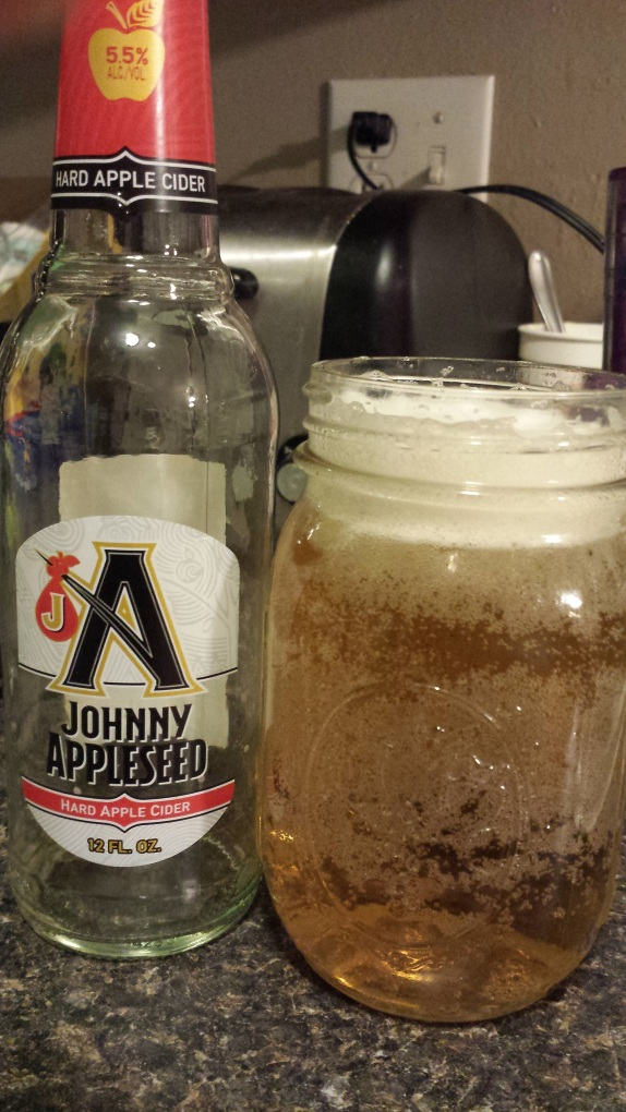 Switching gears. Discovery of the weekend: Johnny Appleseed poured over ice tastes like Crispin. #AWESOME